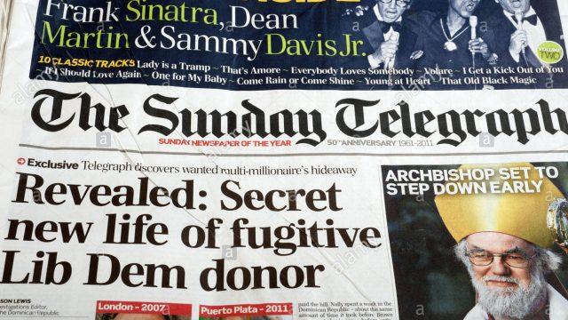 Газеты Daily и Sunday Telegraph выставлены на продажу