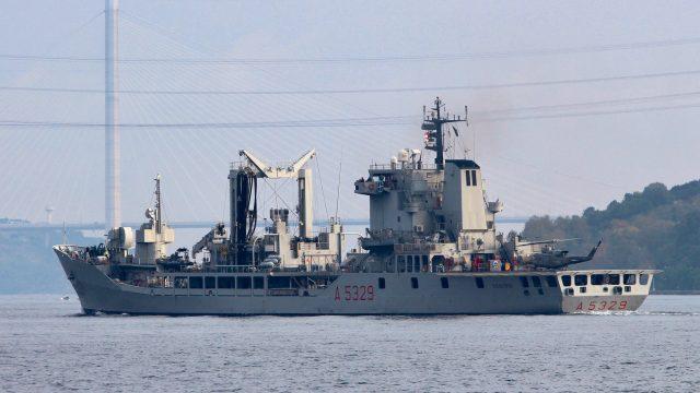 Украина принимает участие в учениях НАТО В Черном море