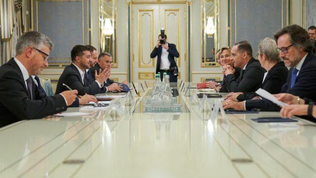 Зеленский встретился с главой МИД Германии