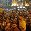 В центре Тбилиси проходят митинги
