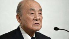 Умер бывший премьер-министр Японии Ясухиро Накасонэ