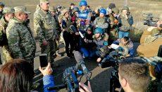 Российско-оккупационные войска сорвали разведение в районе Богдановки и Петровского