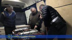 СБУ блокировали вывоз в Европу запчастей для бронетехники
