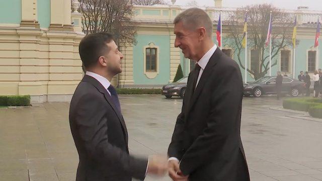 Началась встреча Зеленского и премьер-министра Чехии