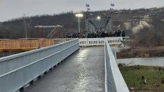 В Станице Луганской открыли мост