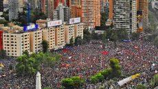 В Сантьяго на марш вышли около 20 тыс. человек