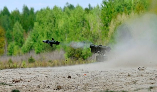 ВСУ получили управляемые ракеты для ПТРК