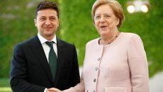 Зеленский и Меркель обсудили саммит «нормандской четверки»
