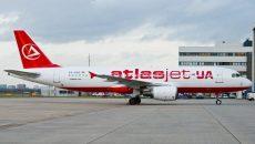 Atlasjet Ukraine возглавила рейтинг пунктуальности украинских авиакомпаний