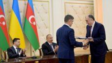 Украина и Азербайджан подписали ряд двусторонних соглашений