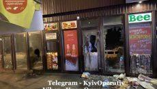 В Киеве обстреляли рынок