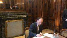 Украина и РФ начали подписывать документы по транзиту газа