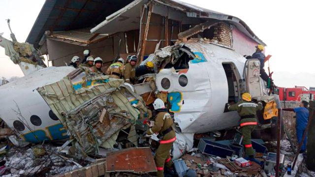 На борту разбившегося в Казахстане самолета были четверо иностранных граждан