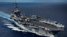 Атомный авианосец ВМС США