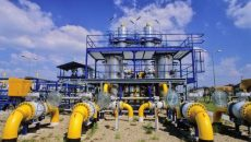 Добыча газа в Украине сократилась