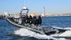 Флот морской охраны Украины пополнен малыми катерами