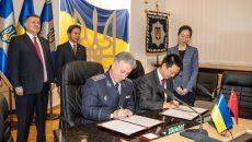 Китай передал ГСЧС Украины аварийно-спасательную технику