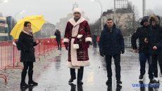 Кличко открыл Шулявский мост