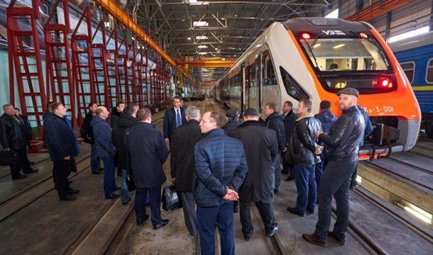 Новый дизель-поезд из Кременчуга прошел испытания