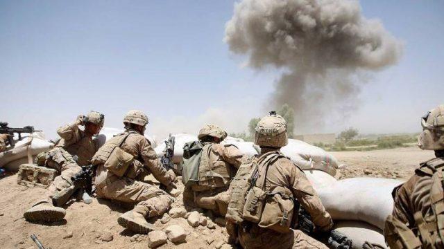 У военной базы США прогремел взрыв