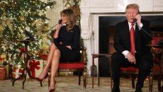 Трамп еще не купил рождественский подарок супруге Мелании