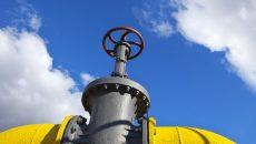 Транзит газа РФ значительно ниже оплаченных объемов