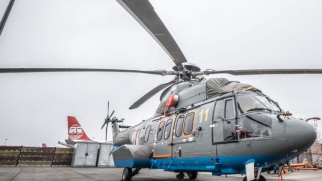 Авиапарк МВД пополнился очередным вертолетом