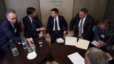 Зеленский встретился с Премьер-министром Нидерланд