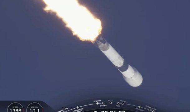 SpaceX запустила 60 интернет-спутников