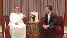 Зеленский встретился в Омане с министром иностранных дел