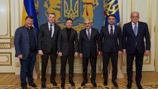 Зеленский встретился с главой SOCAR