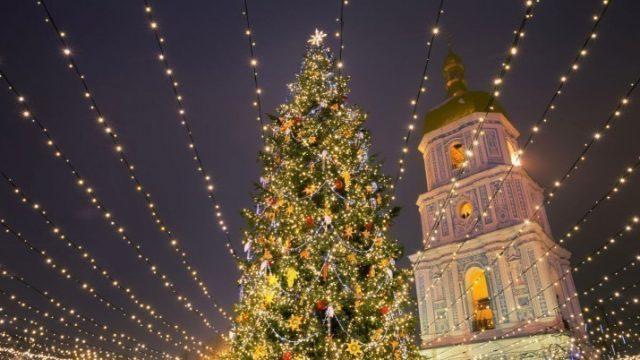 Столичная елка попала в ТОП-5 самых красивых в Европе