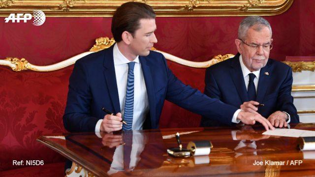 Австрийское правительство возглавил Курц
