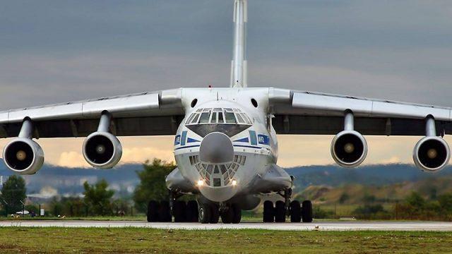 Прошли испытания военного самолета Ил-76МД
