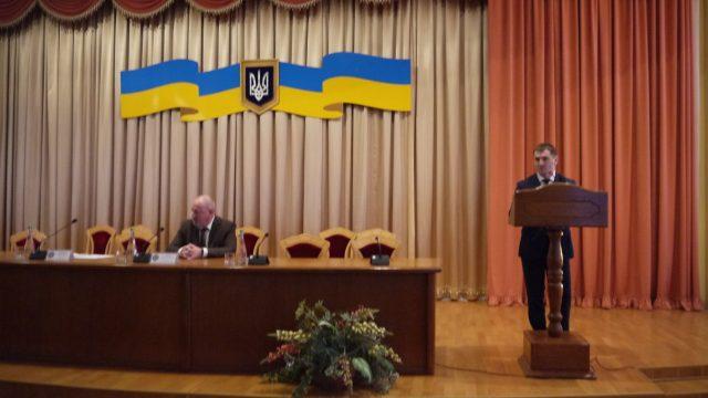 Виктор Чумак представил прокурора Ровенской области