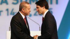Трюдо и Эрдоган обсудили Ближний Восток
