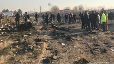 Киев и Тегеран договорились вместе расследовать крушение Boeing