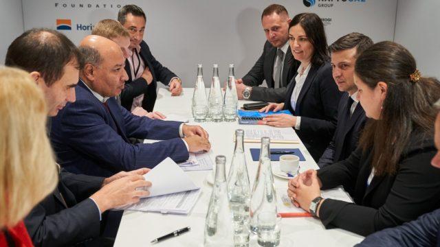 Президент встретился с главой ЕБРР