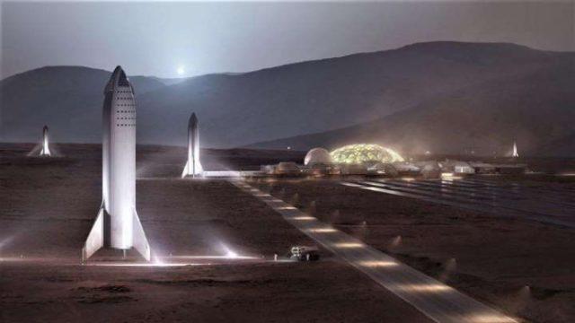 Маск собрался отправить на Марс миллион людей
