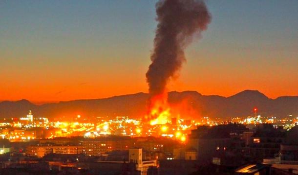 В Каталонии прогремел взрыв на нефтехимическом заводе