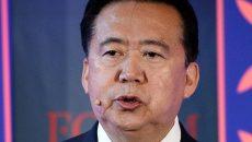 Экс-главу Интерпола Мэна Хунвэя приговорили в Китае к 13,5 годам тюрьмы