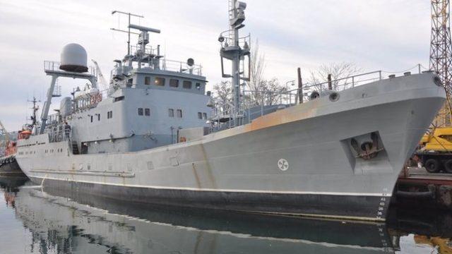 В Одессе испытали новый корабль ВМС Украины
