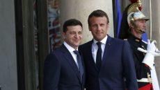 Зеленский и Макрон договорились о привлечении французских специалистов к расшифровке самописцев