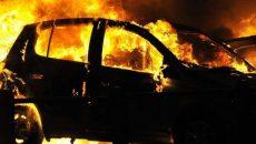 Минувшей ночью сожгли автомобиль журналистки