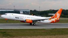 SkyUp приостанавливает чартерные рейсы в Китай
