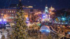 В центре столицы Новый год встретили более 100 тыс человек