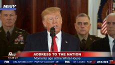 Трамп обратился к нации