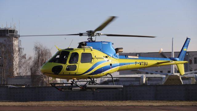 Госпогранслужба получила два новых вертолета