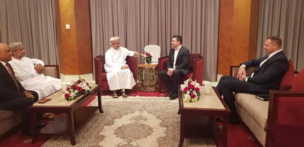 Зеленский в Омане обсуждал инвестиции