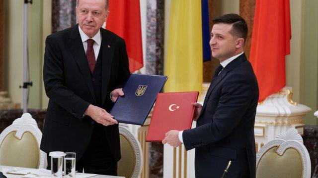 Эрдоган и Зеленский подписали совместное заявление о приоритетных задачах развития двустороннего партнерства